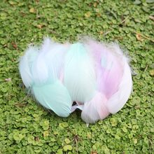 Natural Feathers Plumes for Gift Box Bouquet Filling Photo Props Wedding Party DIY Craft Decor(China)