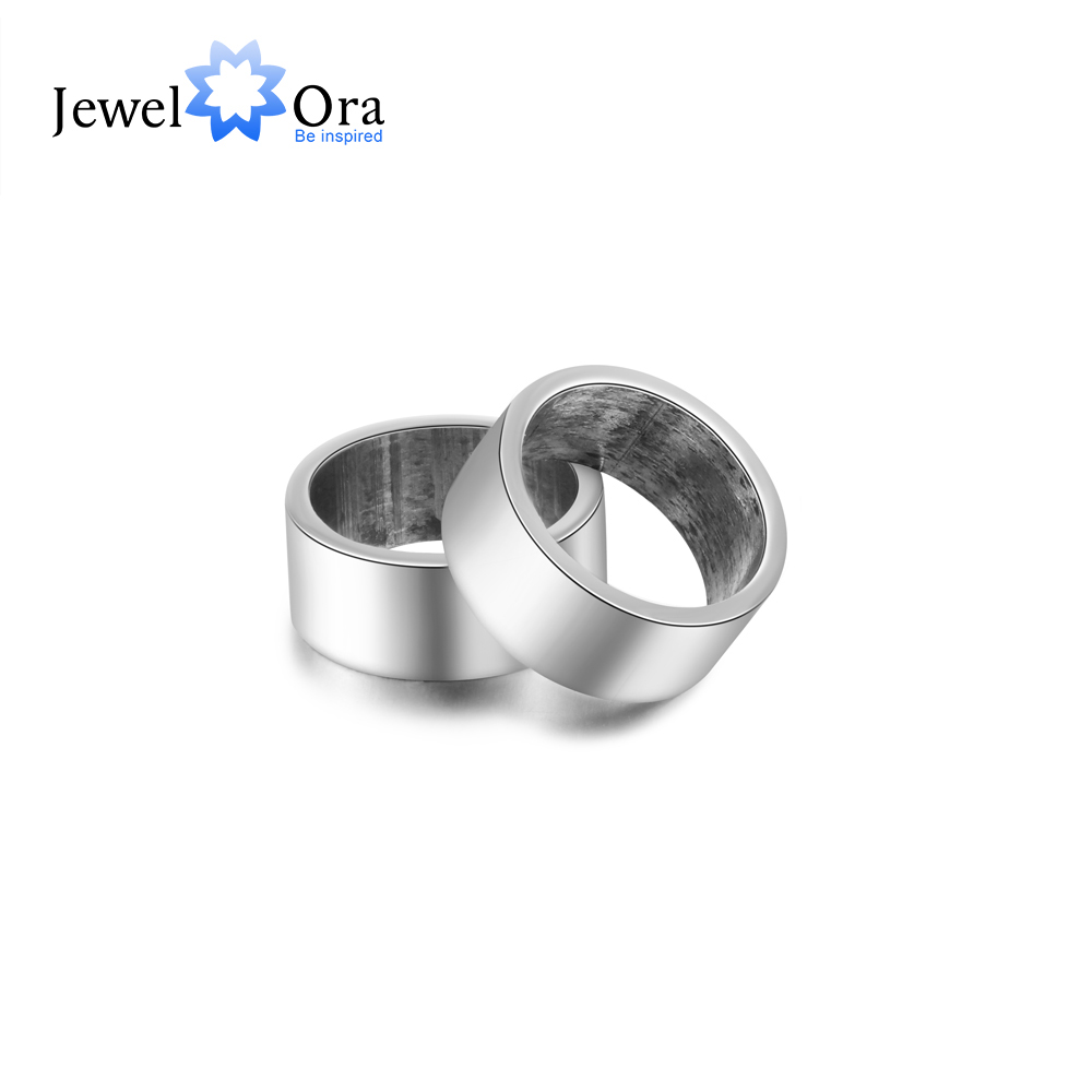 JewelOra Personalized Name Engraved Beads Fit Bracelets 925 Sterling Sliver & Stainless Steel Jewelry