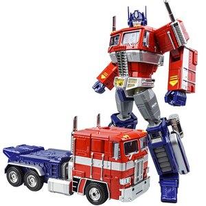 Image 1 - שינוי OP מפקד WJ MPP10 MP10 G1 סגסוגת פעולה איור רובוט רכב Oversize מעוות צעצועי ילדים מתנות