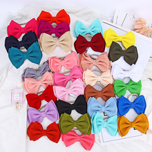 30 Colors Baby Knotted Bows Headband Turban Baby Girl Hair Accessories for Newborn Toddler Children Kids Handmade Hair Band
