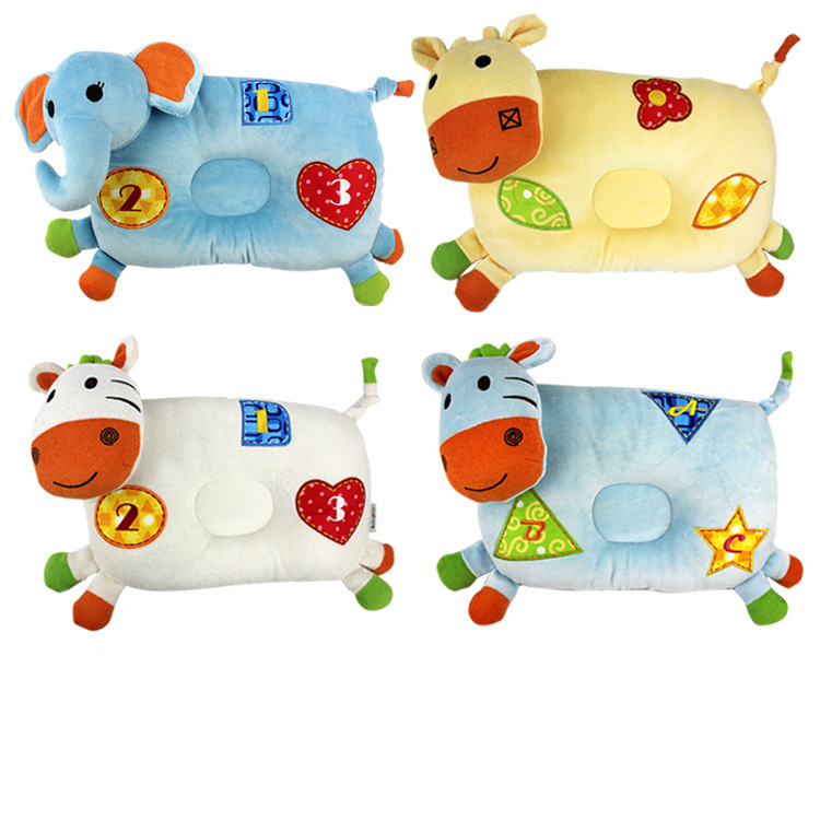 Cartoon Animal Styling Baby Nursing Pillow And Toddler Sleep Positioner Anti Roll Baby Bedding