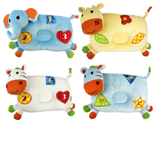 Infant Pillow Child Cartoon Animal Styling Baby Nursing Toddler Sleep Positioner Anti Roll Bedding