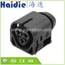 O envio gratuito de 2 conjuntos 3pin plástico habitação plug cablagem automática selado cabo conector 12521437985