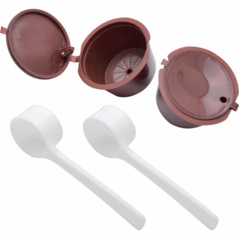 Reusable Coffee Capsule Practical For DOLCE GUSTO Machine  Chocolate Filter Set Home Garden Supplies