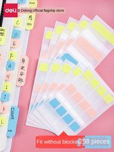 Индексная наклейка для заметок, флуоресцентная наклейка, милые закладки для книг, оптовая продажа, наклейки для студентов