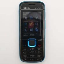 Nokia 5130 reconditionné-téléphone Original déverrouillé Bluetooth FM, clavier anglais, russe, hébreu et arabe, XpressMusic, 5130