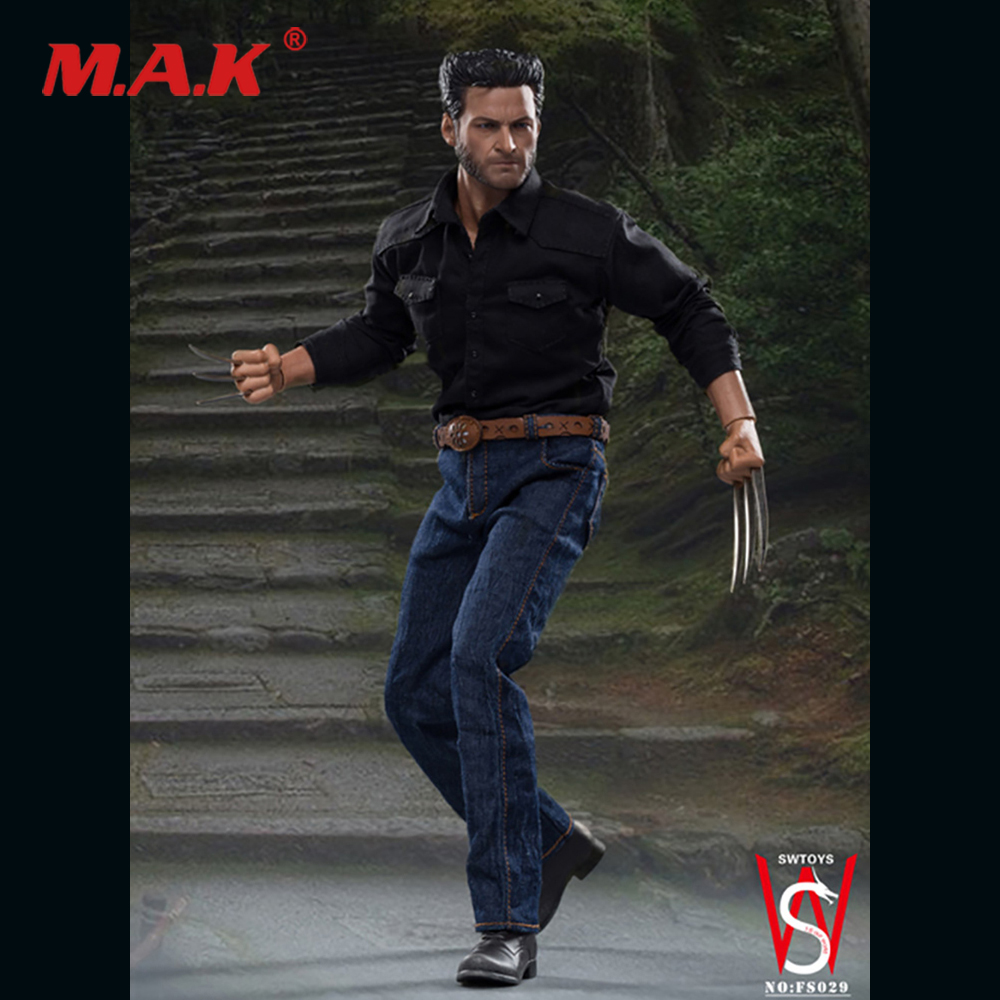 1/6 FS029 Uncle Wolf action figure Hugh Jackman full set doll model for collection fans Gifts in stock