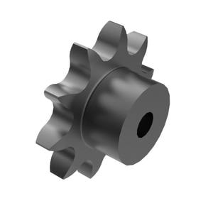 08B 11 Teeth Steel Prebore B Type Roller Chain Sprocket Hub with Hardened Teeth and 10mm Inner Bore