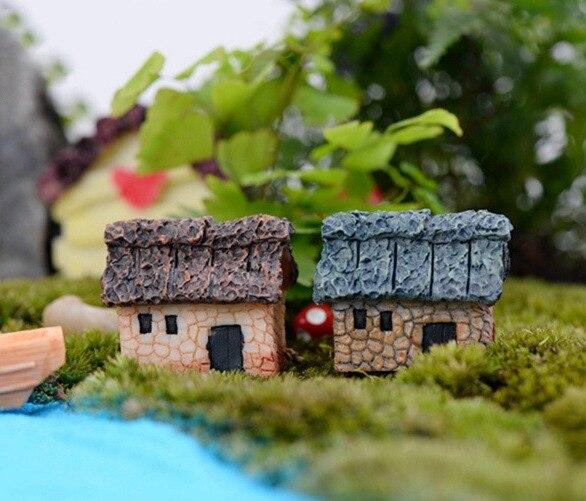 Mini Fairy Garden Craft Figurine Plant Pot Garden Ornament Miniature Decor DIY