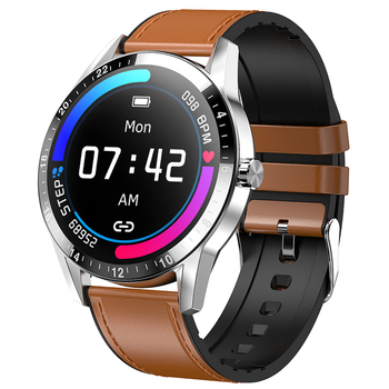 цена на Full Touch Business Style Smart Watch Men Support Bluetooth Call Heart Rate Monitor Smartwatch for Android IOS Phone G20