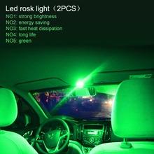 2018 kreatywny 2 sztuk 2-calowy ekran wodoodporny IP67 9W 10-36V 3 LEDs Auto Car Decoration lampa kamienna wielofunkcyjny wskaźnik tanie tanio Tirol CN (pochodzenie) Lampa atmosfera Black 3 pcs green yellow red blue Diecast aluminum Lens 2 inch