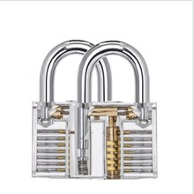 High Quality Transparent Practice Lock Combination Skill Set Cuvax Through Large Acrylic Hanging