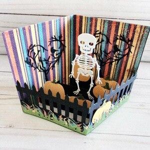 Image 2 - Stansmessen Popout Card Plakboek Kaartmaken Papercraft Verrassing Creatie Sterft Diy Stencil