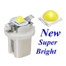 100Pcs T5 B8.5D 509T Super Bright 3030 LEDหลอดไฟAuto Dashboardตัวบ่งชี้ตราสารB8.5 Wedge Gauge speedo Dash