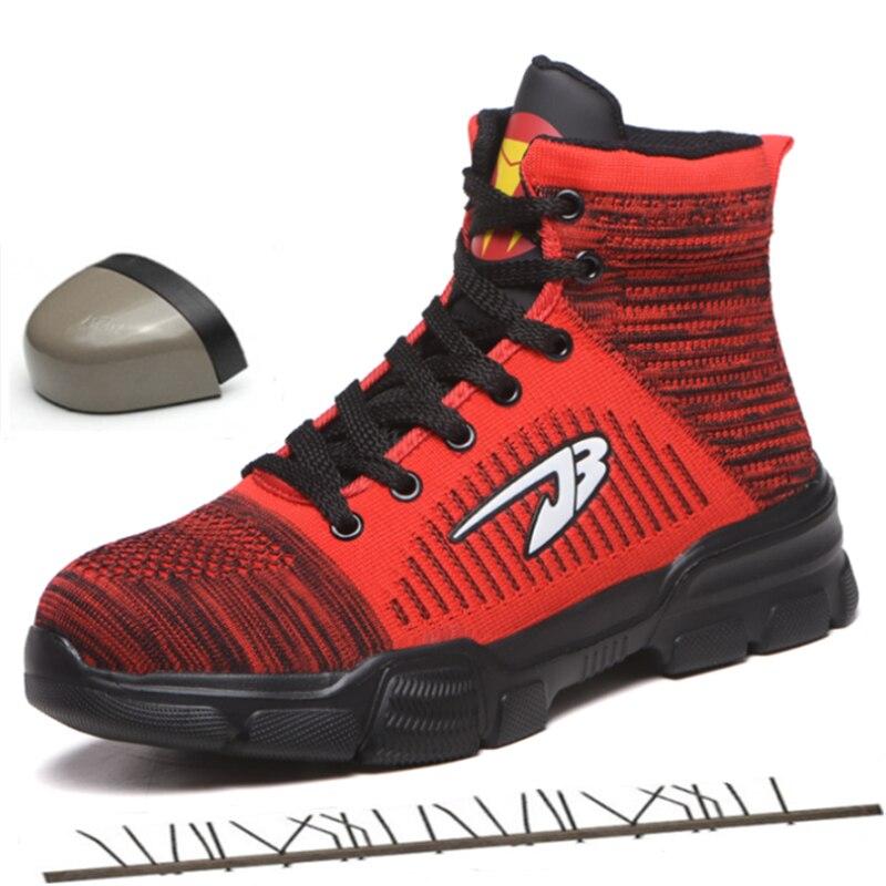 Winter Autumn Work Safety Shoes Men