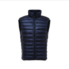 2020new легкая пуховая мужская куртка жилет короткая подкладка тонкий свободного покроя пальто мужчины высокого качества
