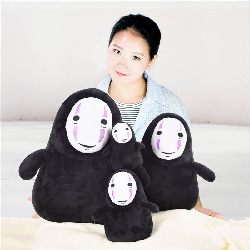 15-25cm Cartoon Plush Toy No Face Male No Face Plush Pendant No Face Grimace Children Gift No Face Man Doll Toy WJ179
