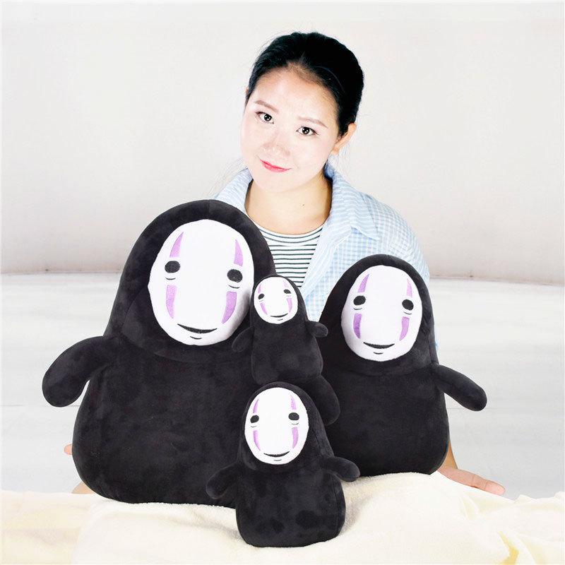 15-25cm cartoon plush toy no face male pendant grimace children gift man doll WJ179