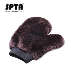 Image 5 - SPTA – gants de lavage de voiture, outil de nettoyage automobile, brosse de nettoyage multifonction, Super propre, en laine