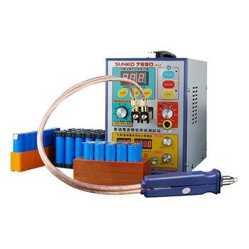 SUNKKO 769D High Power Multifunctional Lithium Battery Spot Welder Battery Automatic Spot Welding Machine with 70BN Welding PEN