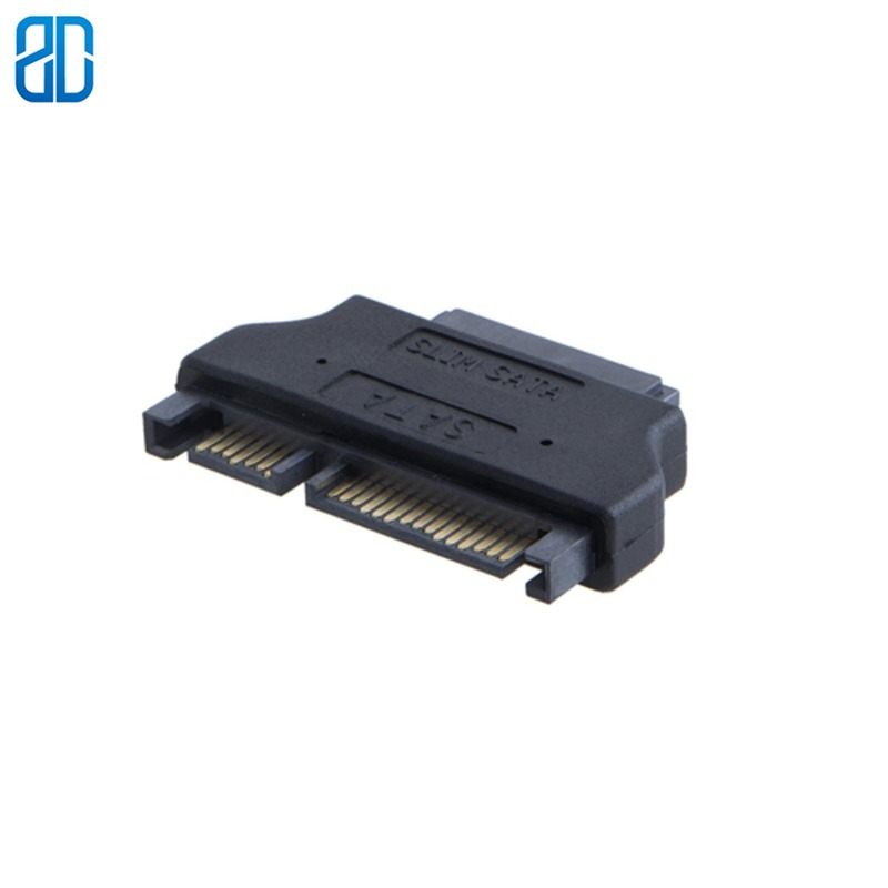 <font><b>SATA</b></font> <font><b>22Pin</b></font> <font><b>Male</b></font> <font><b>to</b></font> Slim <font><b>SATA</b></font> <font><b>13Pin</b></font> Female <font><b>Adapter</b></font>, Slim <font><b>SATA</b></font> <font><b>Adapter</b></font> image