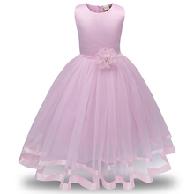 Mesh Evening Clothing Girl Princess Dress Kids Clothes Flower Dresses For Girls Children Dresses Wedding Party Formal Ball Gown girl s formal dress 2018 flower wedding dresses kids gauze birthday evening party ball gown children s princess dress pink 2 13y