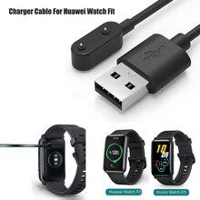 Baaleetc Cable cargador de 1m para Huawei Watch Fit, Cable de carga USB de repuesto, Clip, accesorios para Huawei Fit smartwatch