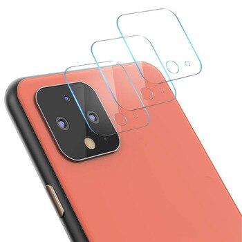 Перейти на Алиэкспресс и купить Заднее стекло для объектива камеры, прозрачное заднее закаленное стекло для Google Pixel 4XL, Защитная пленка для экрана для Google Pixel 4 XL 4