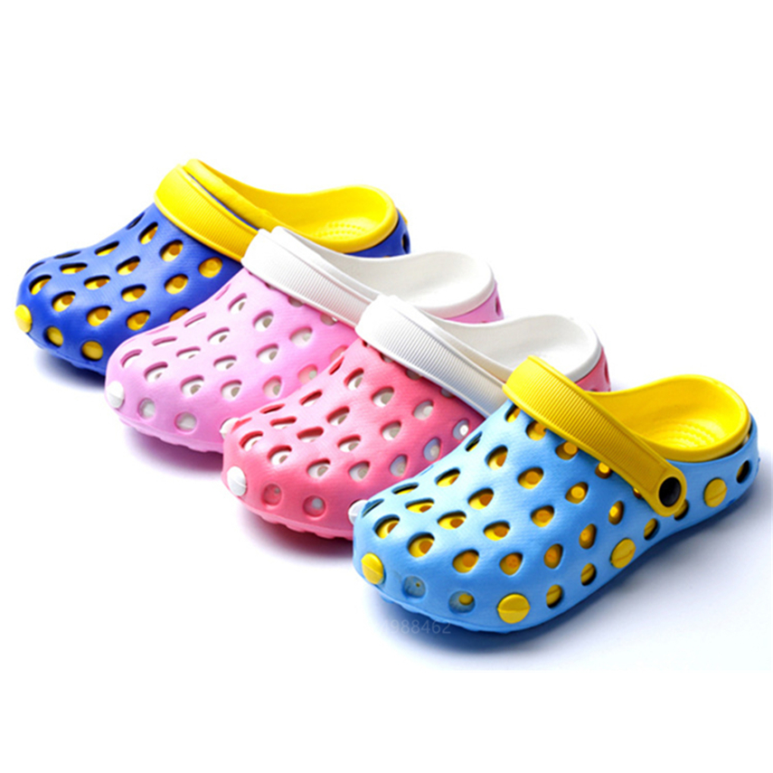 Medival Shoes Operating Room Protective Hospital Doctor Nurse Surgical Breathable Slippers Waterproof Non-slip Hole Sandals