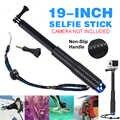 軽量 19 インチ拡張可能なハンドヘルドポール Selfie スティックノンスリップ屋外旅行 Selfie スティック移動プロヒーロー 7 6 5 4 3 + 2