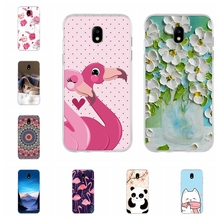 цена на For Samsung Galaxy J3 2016 J3 2017 Case Soft TPU Silicone Cute Panda Patterned For Samsung Galaxy J5 2016 J5 2017 Cover Bumper