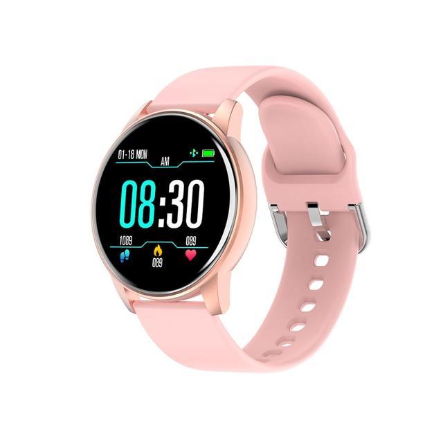 Fashion Cheap Smart Watch Waterproof Big Screen Heart Rate Blood Pressure Oxygen Men Women Smartwatch for Adult