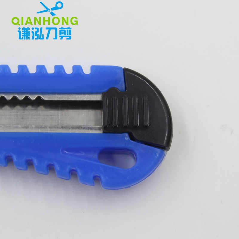 Yüksek kaliteli bitirme küçük Metal kesme el sanatları kağıt kesme için duvar kağıdı bıçak katlanır geri çekilebilir bıçak