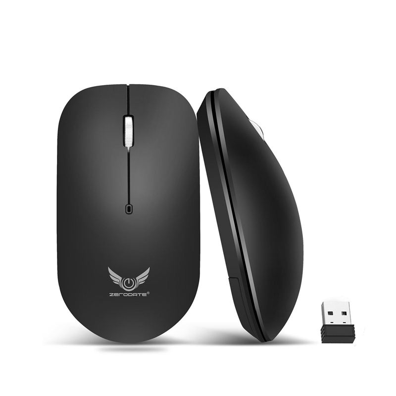 T20 2.4Ghz Wifi Wireless Mouse 1600DPI 3 Keys Gamer Gaming Mouse Ergonomic Optical Mouse For PC Laptop Computer