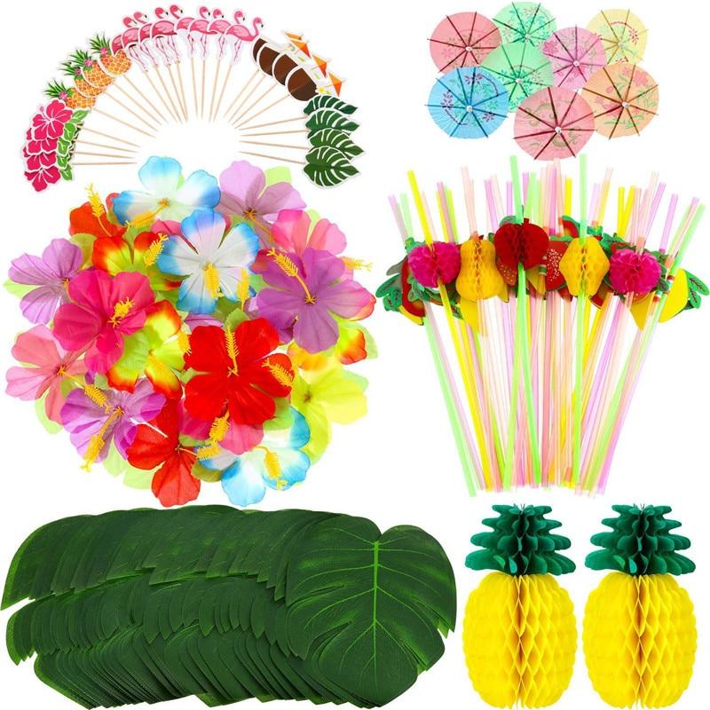 home decor ideas use tropical leaves.htm a set of hawaiian party decorations palm leaf hawaii tropical  hawaiian party decorations palm leaf