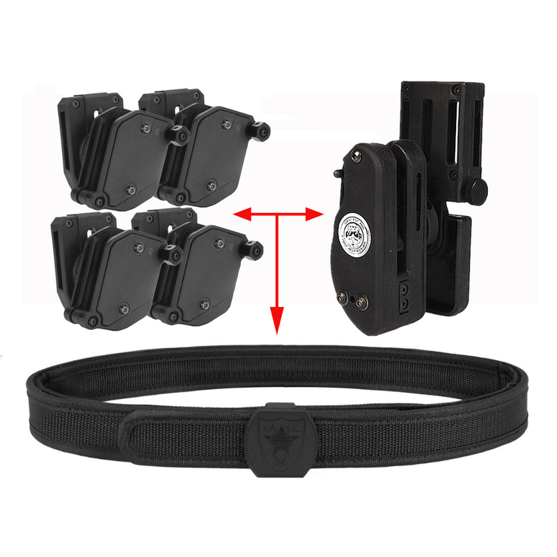 IPSC Tactical Belt & IPSC Holster & Magazine Pouch Set Competition Shooting Tactical Shooter's Pistol Race Master