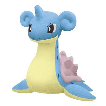 Peluche de Lapras de 25cm Merchandising de Pokémon