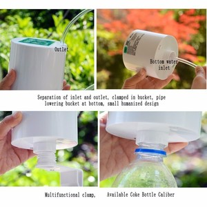Image 4 - Intelligente Giardino Succulente Ricaricabile Dispositivo Automatico di Irrigazione Pianta In Vaso Irrigazione a goccia Timer Sistema di Irrigazione Kit