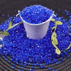Bruiloft Decoratie 1000 Stuks 4.2Mm Ambachten Diamond Confetti Tafel Scatters Heldere Kristallen Middelpunt Evenementen Party Feestelijke Benodigdheden