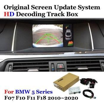 Car Rear View Camera For BMW 5 Series E60 E61 F07 F10 F11 F18 G30 G31 G38 2010-2020 Reverse Parking Decoder Accessories