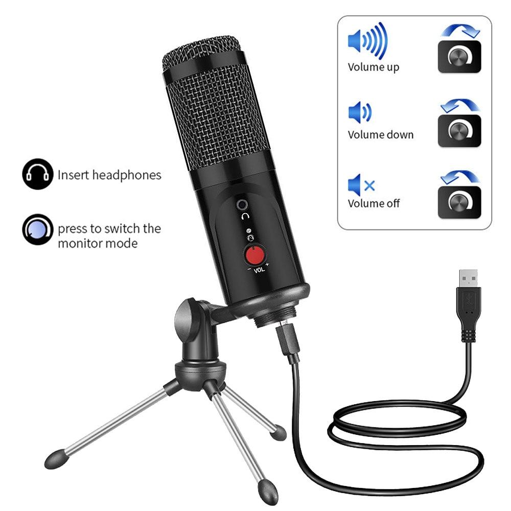 PC səs kartı professional karaoke mikrofonları üçün DJ - Portativ audio və video - Fotoqrafiya 3
