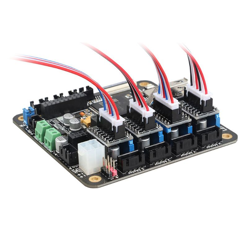 3D Printer Board Adapter Module External High Power Switching Module for Microstep Driver For Lerdge 3D Printer Board QX2B