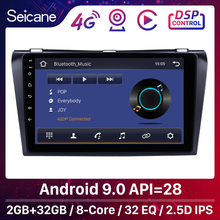 """Seicane 9"""" Android 9.0 Car GPS Unit Player For 2004 2005 2006 2007 2008 2009 Mazda 3 BK BL 2Din Support Wifi SWC Mirror link DVR"""