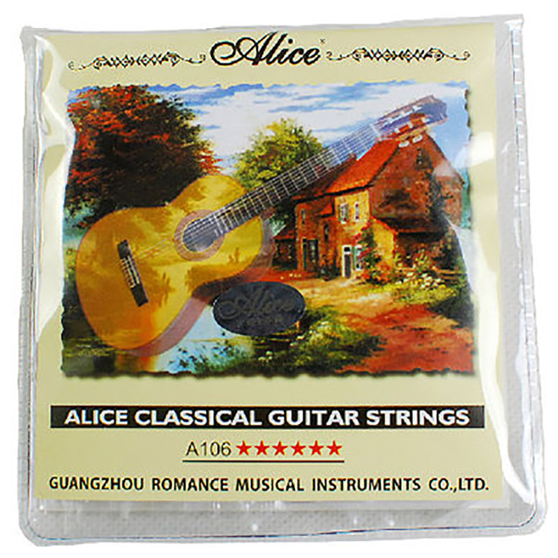 Струны для классической гитары Alice A106H, нейлоновые струны, аксессуары для гитары, 1-6 наборов струн, экономичные