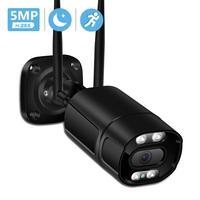 5MP Wifi Kamera IP Outdoor Ai Menschliches Erkennen Audio 3MP 1080P HD IP Kamera Farbe Infrarot Nachtsicht Sicherheit CCTV Kamera P2P