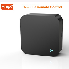 Умный пульт дистанционного управления Tuya Smart life, универсальный пульт дистанционного управления с поддержкой Wi Fi и голосового управления Google Home