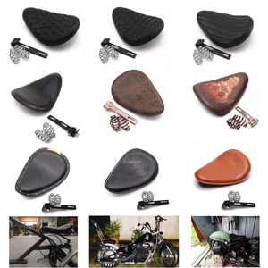 Custom Motorcycle PU Leather Saddle Seat Cushions 3