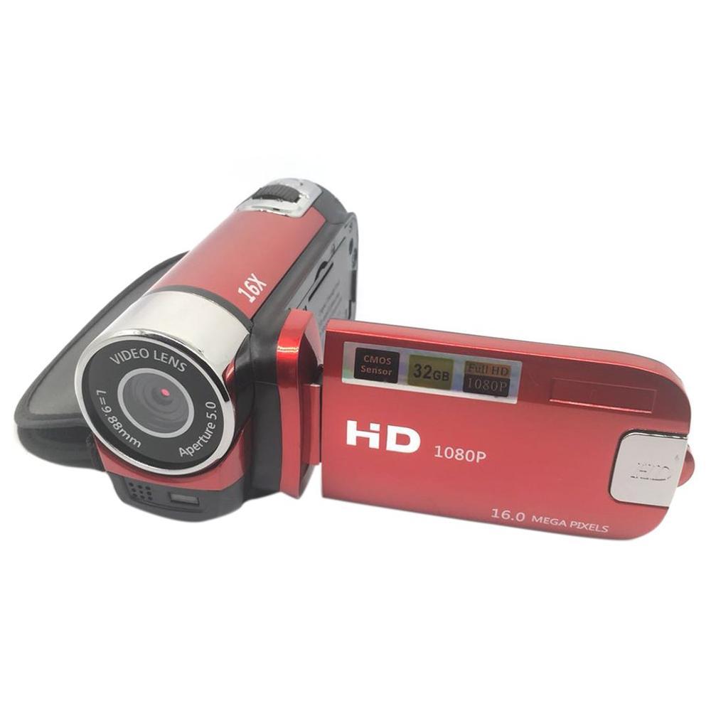 D90 câmera digital 16mp ultra hd câmera 180 graus de rotação da tela da aleta câmera slr 4x zoom digital