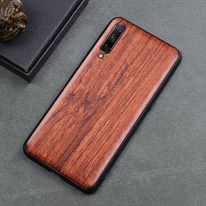 Image 5 - For Xiaomi Mi A3 Case Boogic Original Wood funda Mi A3 Lite Rosewood Cover Phone Case For Xiaomi Mi CC9 CC 9e