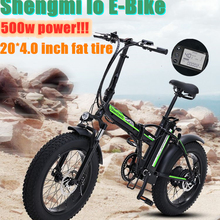 Folding Bicycle Bike Electric-Bike Super-Snow 500W New 48V Aluminum-Alloy Portable